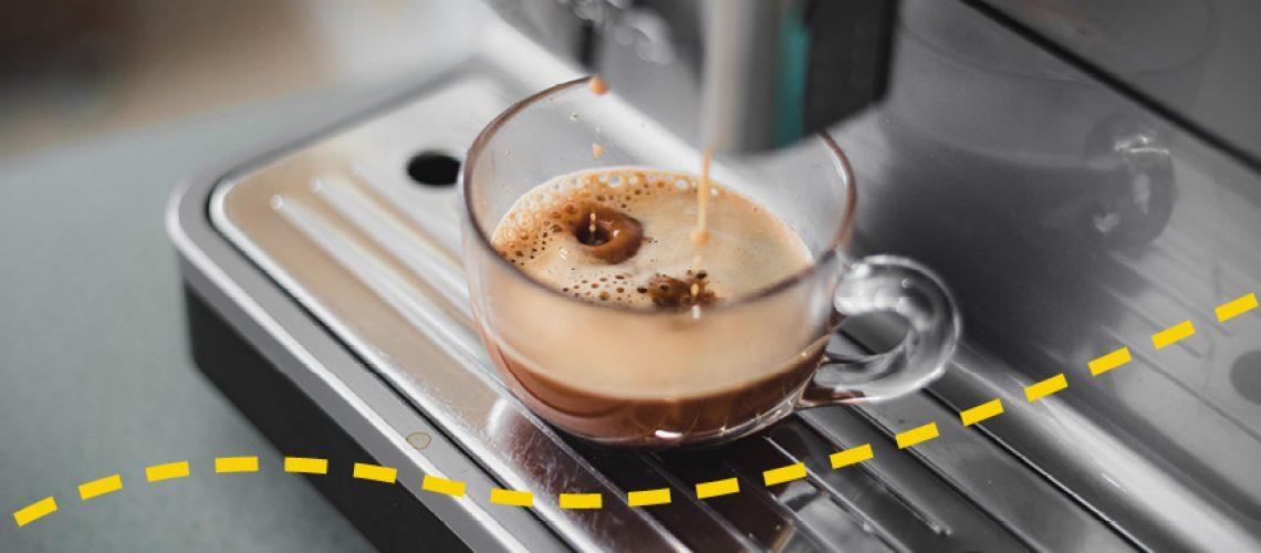 Kaffeemaschinengesrpäch Virtuell